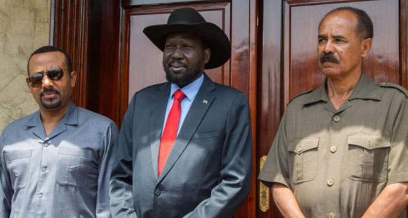 Ethiopia and Eritrea Seek to Boost South Sudan Peace Deal