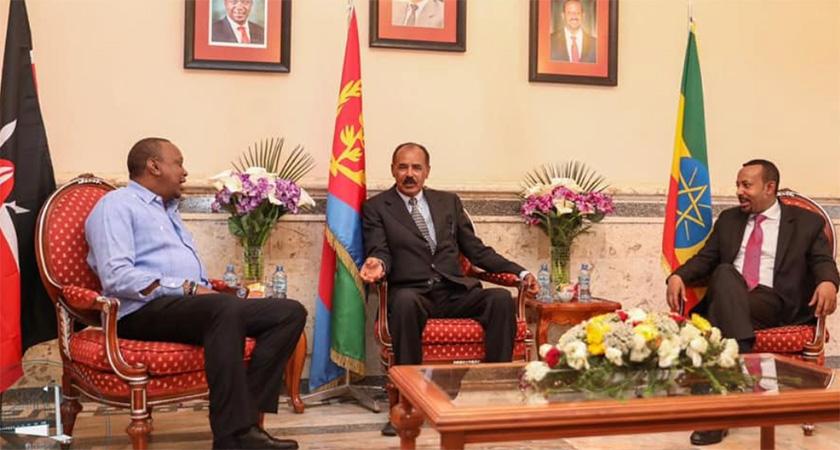Kenya, Ethiopia Leaders in Eritrea for Tripartite Summit