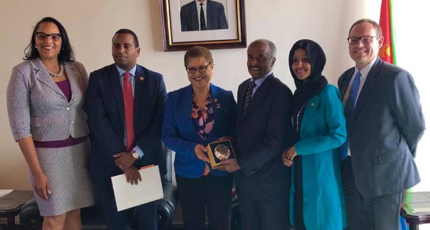 U.S. Congressional Delegation Visits Eritrea