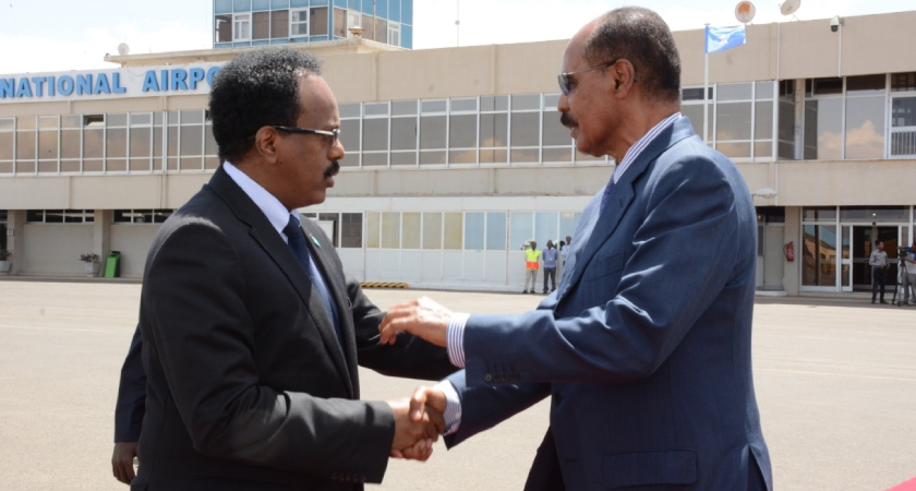 Somalia President Visits Eritrea After Egypt Trip
