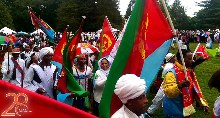 celebrate the 28th Anniversary of Eritrea's Independence