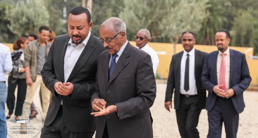 PM Abiy Ahmed Receives Senior Eritrean Delegation