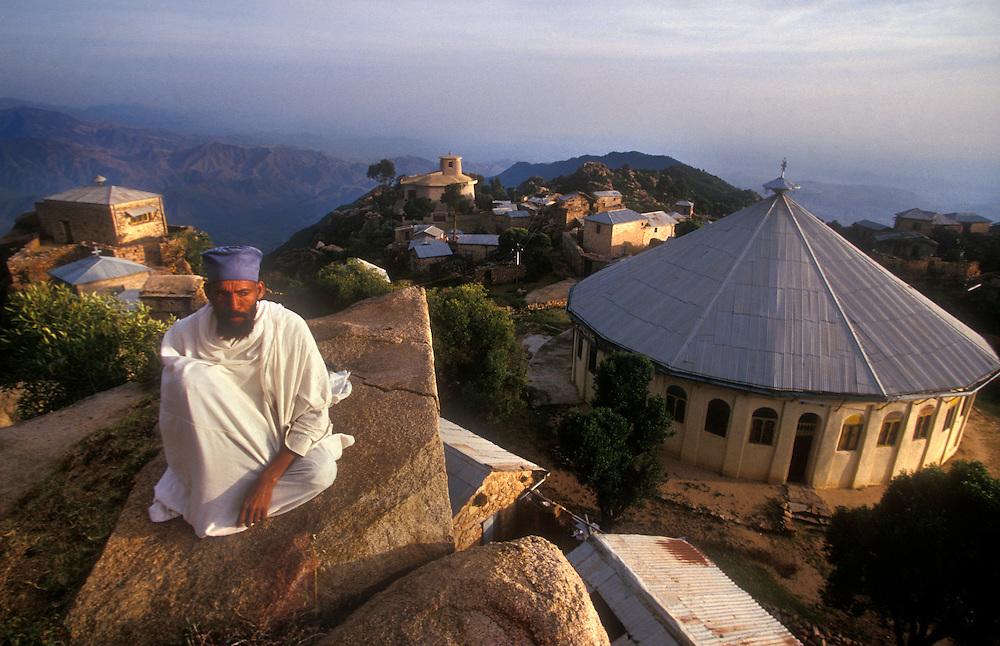 The Debre Bizen Monastery