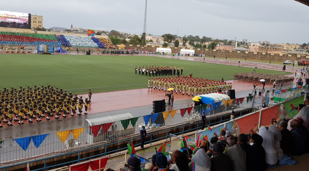 Eritreans celebrating their independence day with great passion and valour.