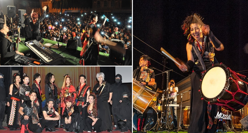 Japanese cultural troupe HEAVENESE at Eritrea Independence anniversary