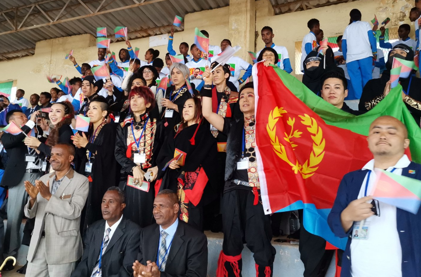 The HEAVENESE attended the main event of the 28th Independence celebration at Asmara stadium as gusts of honour.