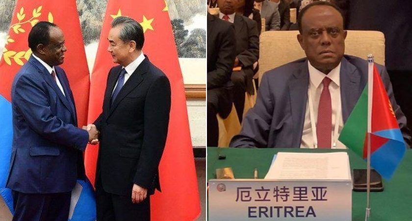 Chinese Foreign Minister has expressed readiness to develop cooperation with Eritrea in the construction, health and oil exploration.