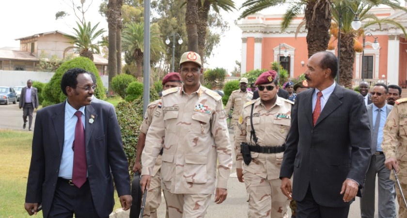 President Isaias Meets Deputy Chairman of Sudanese TMC