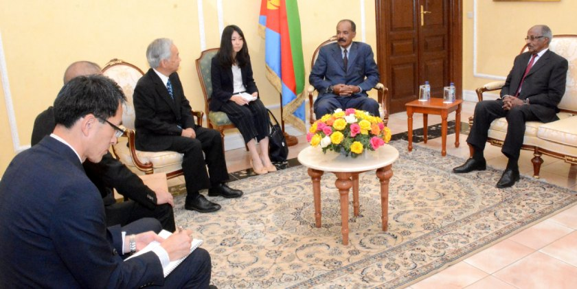 Eritrea encourages investment by Japanese private companies