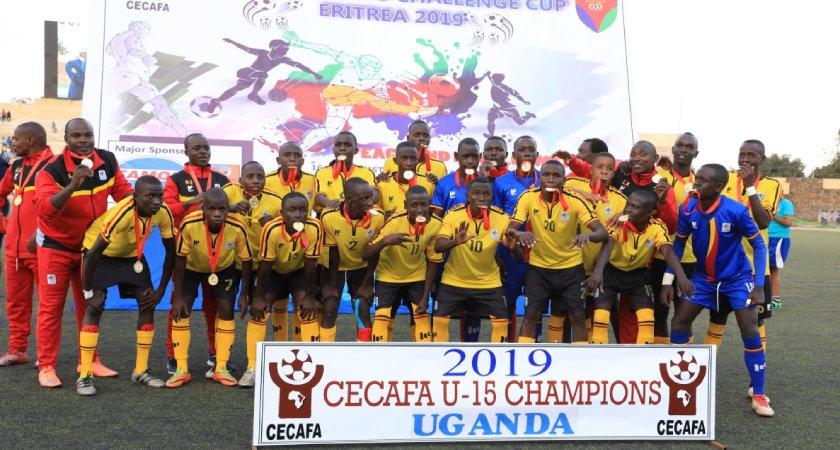 Uganda Wins CECAFA U-15 Championship