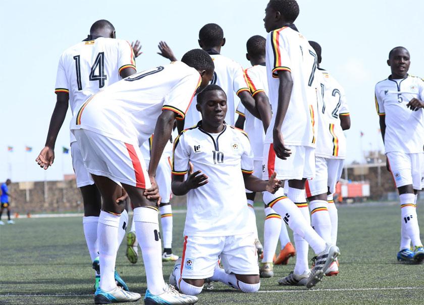 Uganda vs Tanzania cecafa U15 football match
