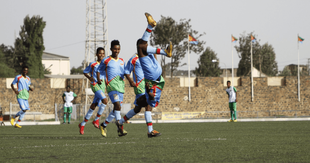 Eritrea's striker Ahmed Awad scored third goal against Sudan cecafa u15