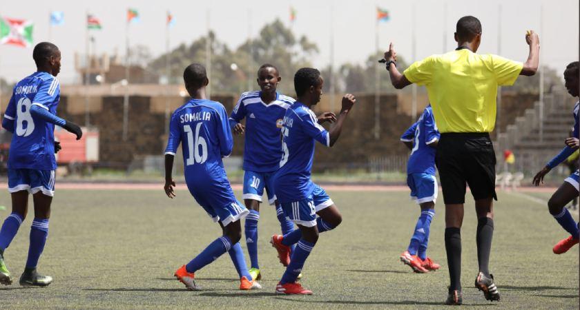 Somalia U-15 defeats Sudan 2-0