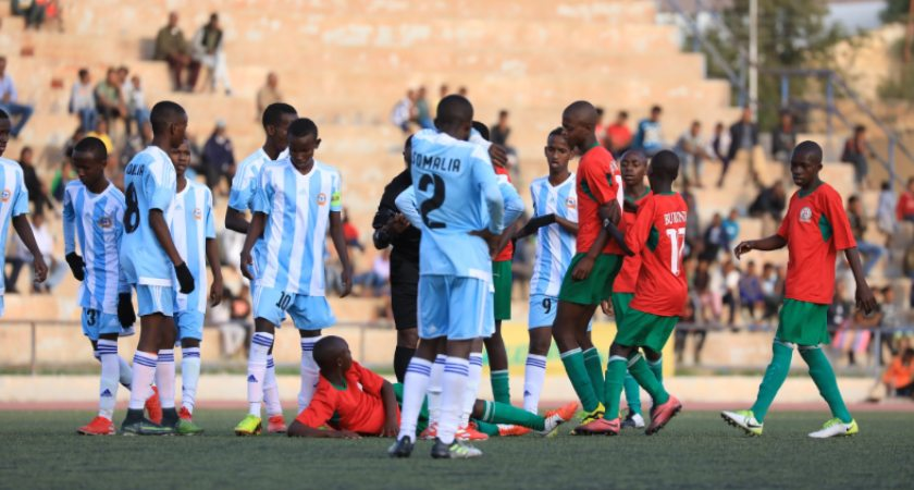 Horn of African countries engaged with with sporting events