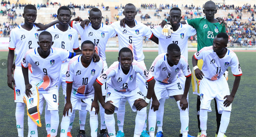 South Sudanese team