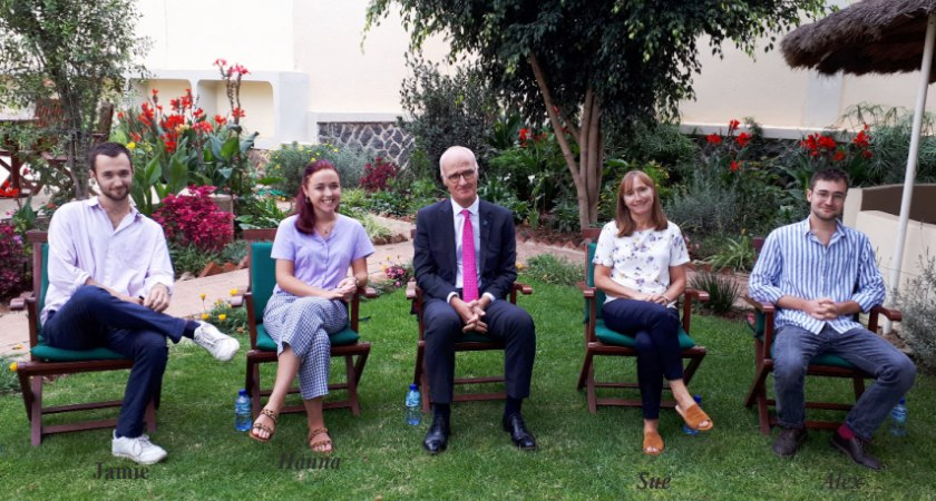 A Talk with British Ambassador to Eritrea, Alisdair Walker, and His Family