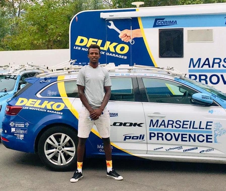 The 19 year old Eritrean rider Biniam Girmay joins Team Delko Marseille Provence for 2020