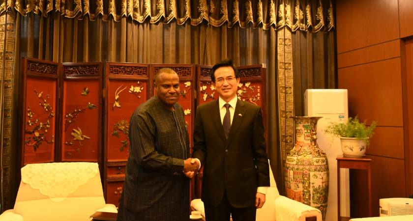 WHO Eritrea and the Chinese Embassy held collaboration meeting on health development support to Eritrea.