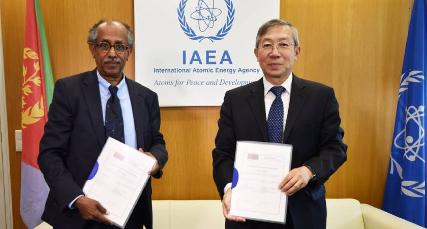 IAEA, Eritrea Sign Second Country Program Framework (CPF) for 2019–2023