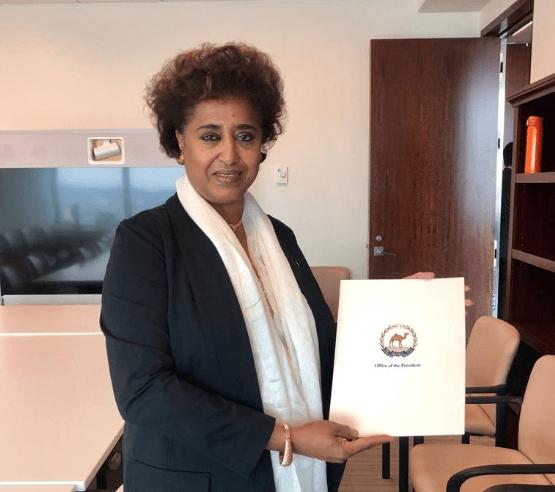 Sophia Tesfamariam, Ambassador Extraordinary & Plenipotentiary
