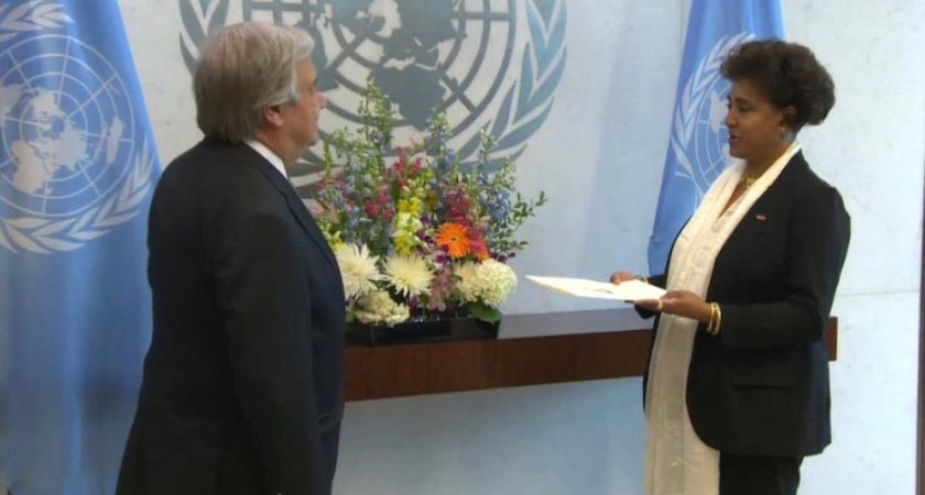 New Permanent Representative of Eritrea Presents Credentials