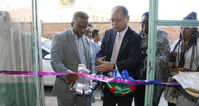 Japan Gov't Representatives Visited Eritrea
