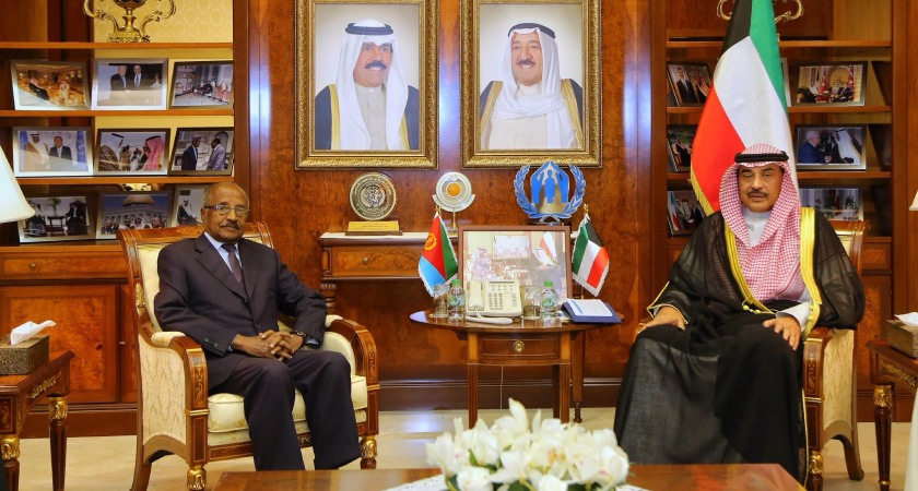 Kuwait FM Meets Eritrean Counterpart