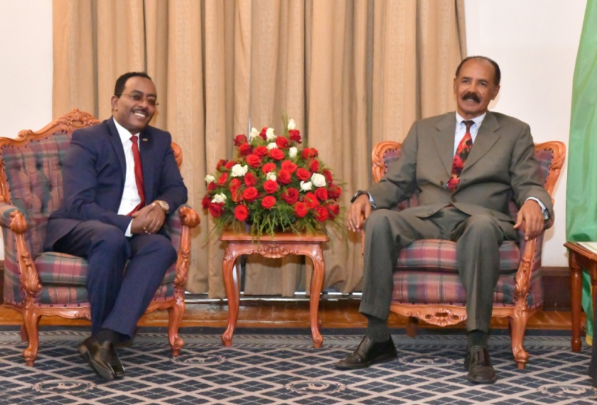 Ethiopian Ambassador to Eritrea, Redwan Hussien, is taking over the position of State Minister at the Ministry of Foreign Affairs