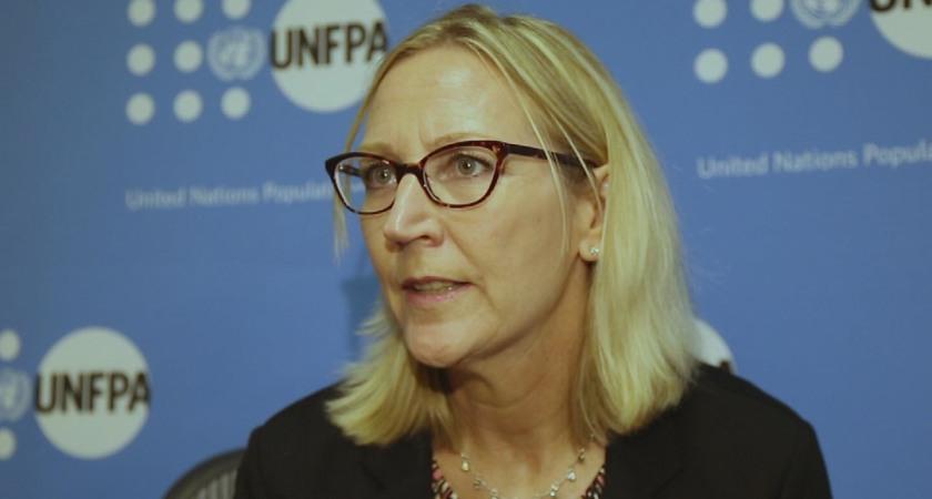 Open Mic conducted candid interview with Ms Marielle Sander, UNFPA Representative to Eritrea