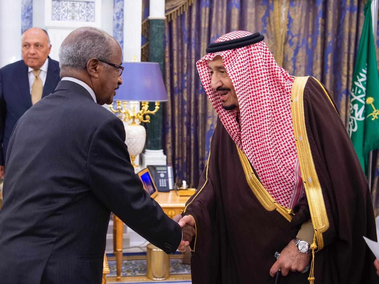 King Salman receives Foreign Minister Osman Saleh of Eritrea