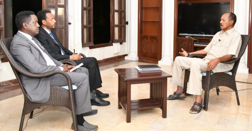President Isaias Afwerki interview on domestic issues
