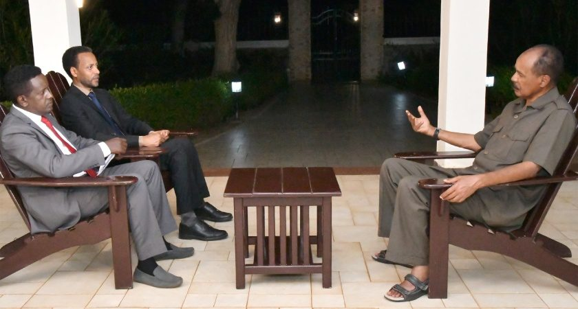 Excerpts of President Isaias Afwerki Interview on Regional Issues