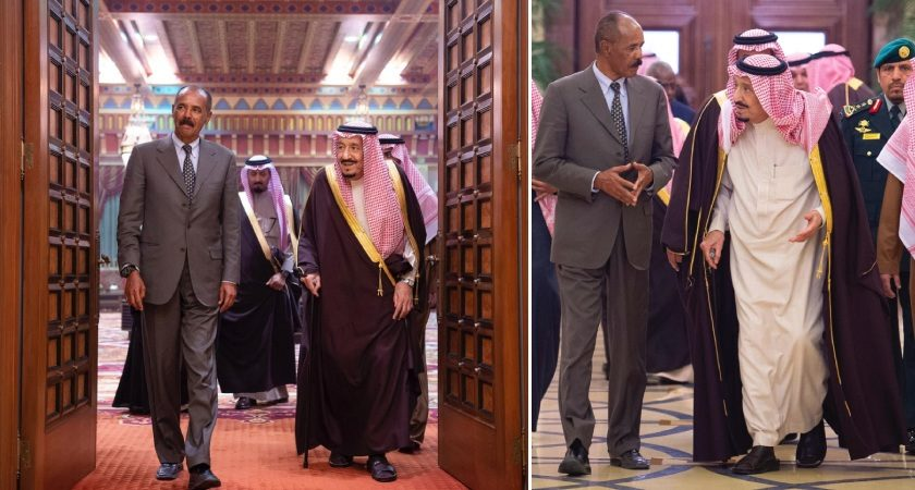King Salman Invites President Isaias for Official Visit to the Kingdom
