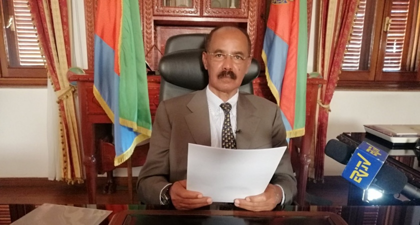 President Isaias Afwerki delivered keynote speech to the Eritrean people re the 29th national Independence Day