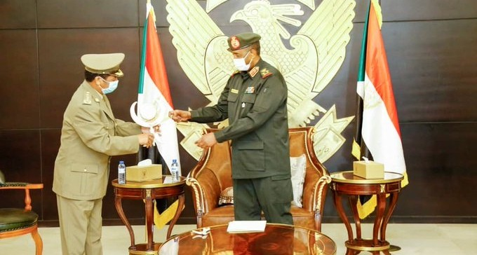 General Philipos Weldeyohans met with Sudan's President of Sovereign Council