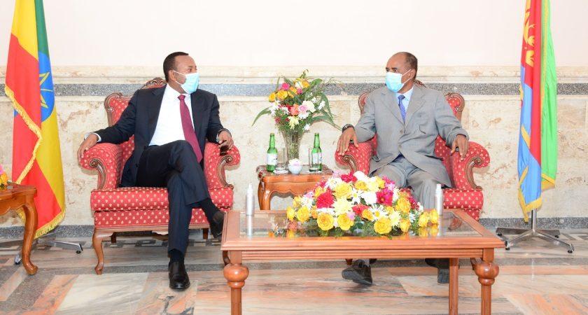 Ethiopia's Premier on Working Visit to Eritrea
