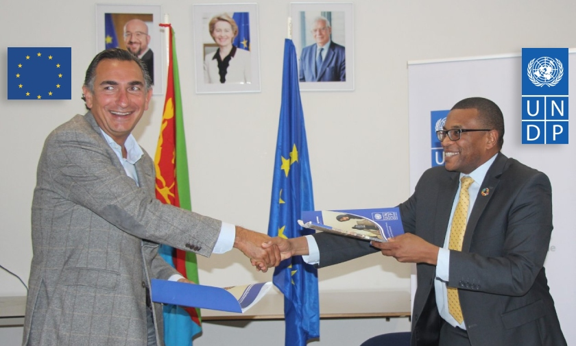 Contribution Agreement signed to strengthen Eritrean National Statistics and Macroeconomic Statistics Systems