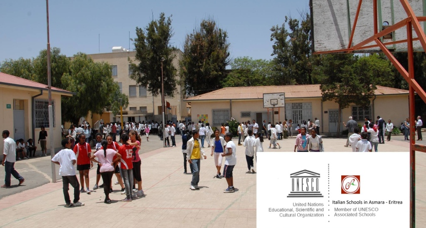 What prompts to the closure of the Italian school in Asmara?