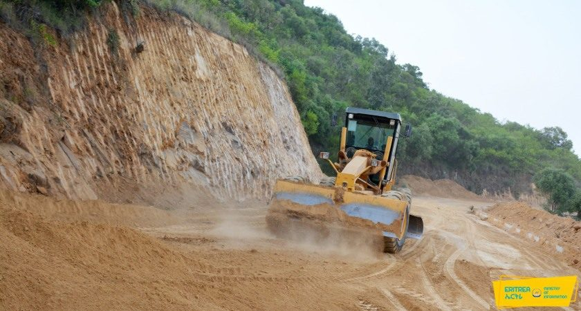 Serejeka – Gindae Asphalt Road Renovated, Expanded