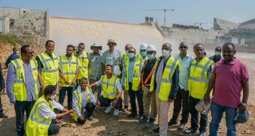 President Isaias Afwerki's visit to the GERD and the Nile dam political crisis