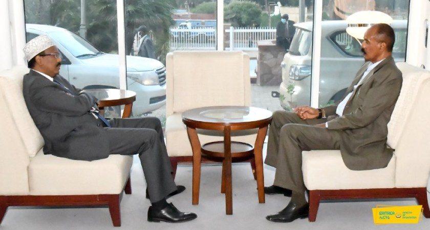 Somalia President Receives Warm Welcome in Eritrea