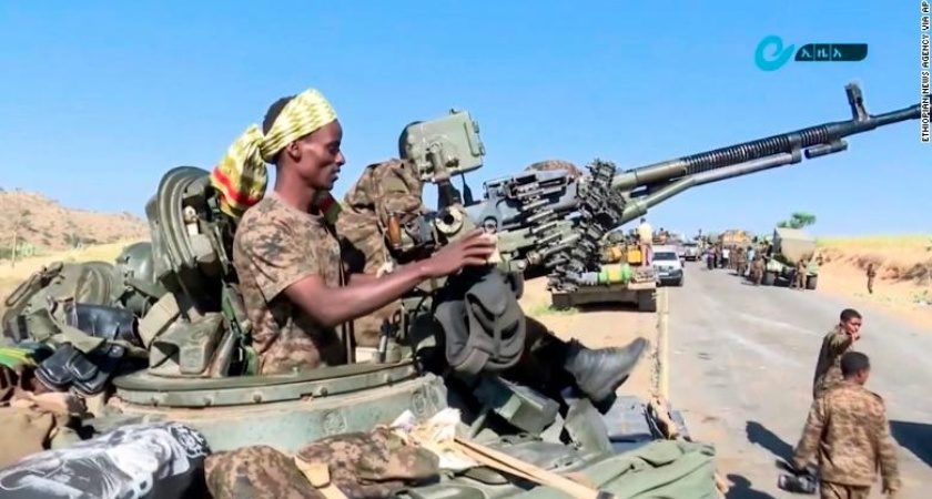 Ethiopian Troops Advancing on Tigray's Capital