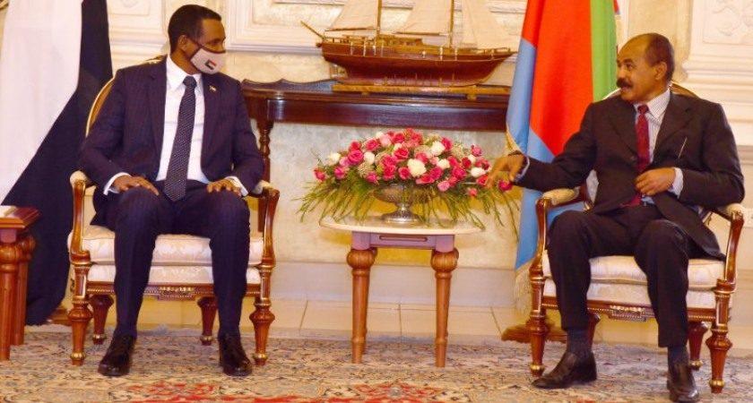 Sudan VP, President Isaias Held Talks in Asmara